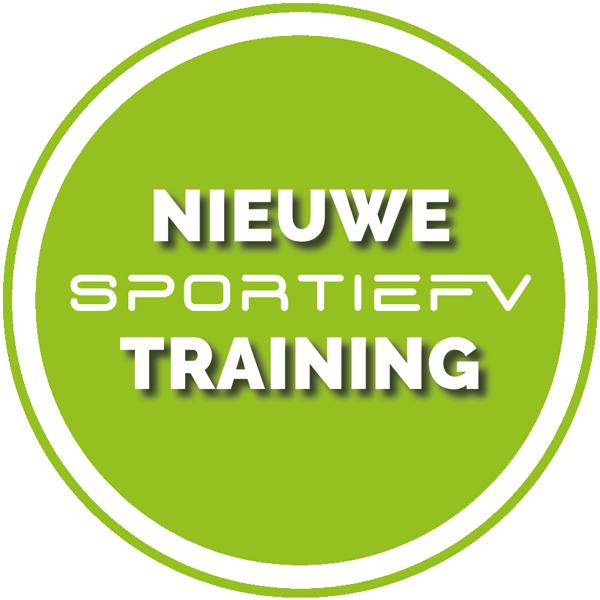 Nieuwe SPORTIEFV training