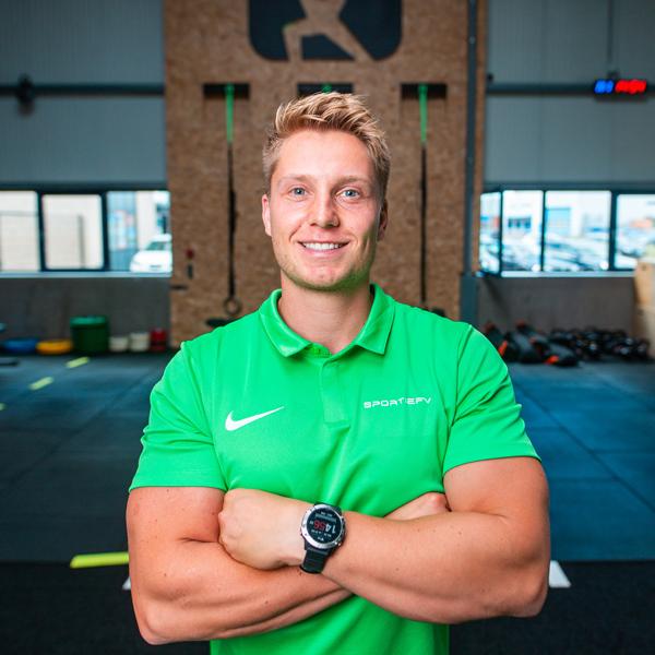 SPORTIEFV eigenaar en (personal) trainer - Frank Versteege